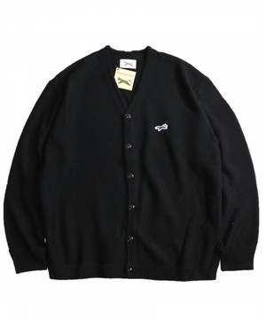 "PENNEY'S / ぺニーズ | "" THE FOX COLOR CARDIGAN "" - black"