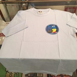 数独Tシャツ 丸シートデザイン ライトブルー