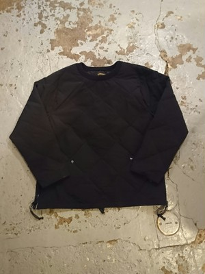 "COMFY OUTDOOR GARMENT ""PULLOVER STRETCH DOWN"" Black Color"