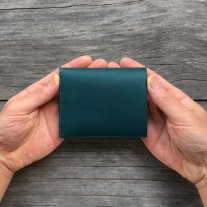 コンパクト二つ折り財布(小銭入れなし) tsukikusa<月草>