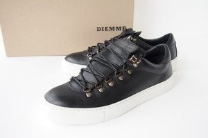 ディエッメ|DIEMME|MAROSTICA LOW BLACK NAPPA|スニーカー|39