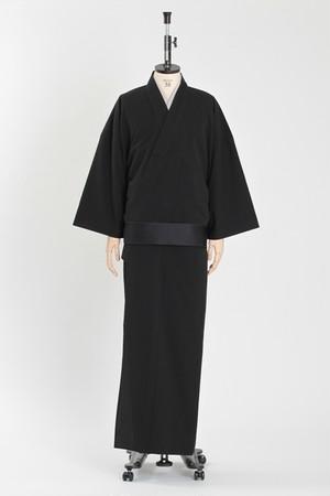 きもの / T-KIMONO / Seersucker / Black(With tailoring)