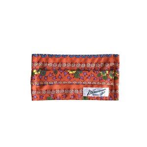 プリーツマスク / ノーズワイヤー, ゴム紐付き / 70's orange flower