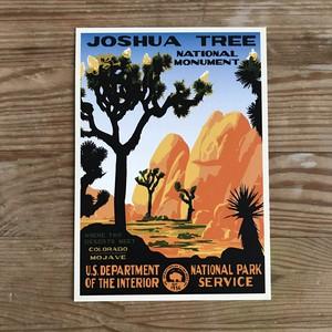 ジョシュア・ツリー国立公園 ポストカード