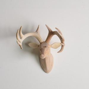 WOOD ANIMAL HEAD / Deer アニマルヘッド ディアー