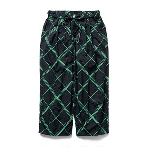 【TIGHTBOOTH】BULKY CHECK BAGGY SLACKS