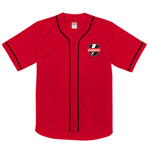 avenomix / THUNDER EMBLEM BASEBALL SHIRT RED