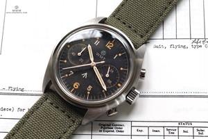 【限定】WMT WATCH Royal Air Force – Aged Edition with Military NATO STRAP(RAF STRAP)