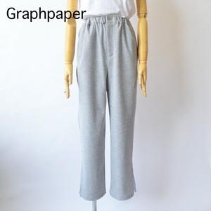 Graphpaper/グラフペーパー・Rib Straight Pants