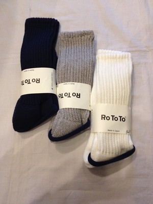 LOOSE PILE SOCKS(RoToTo)