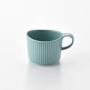 線彫 紺 マグカップ小