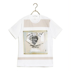 COMME des GARCONS SHIRT コムデギャルソン Tシャツ JERSEY WITH DIGITAL PRINTING BASQUIAT メンズ レディース