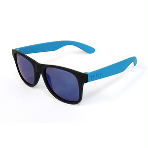 DANG SHADES LOCO RAISED Black Soft / Light Olive x Blue Mirror Polarized(偏光レンズ)