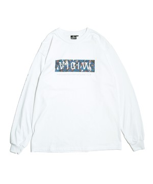 "VIRGOwearworks / ヴァルゴウエアワークス | x「SATOSHI MIYATA」 COLLABORATION "" LOABT LINE LS-T "" white"