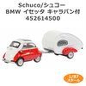 Schuco/シュコー BMW イセッタ キャラバン付 1/87スケール 452614500