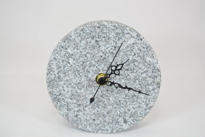 大島石置時計(丸)