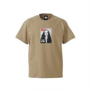 """ANDSUNS(アンドサンズ) """"TRUST NO ONE SS TEE"""" [SAND]"""