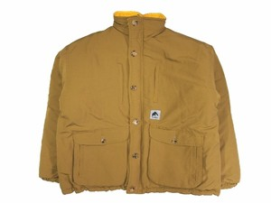 REVERSIBLE PUFF JKT  KHAKI×YELLOW  18AW-FS-05