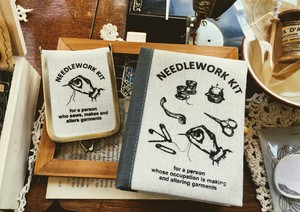 【NEEDLE WORK】ソーイングセット BOOK