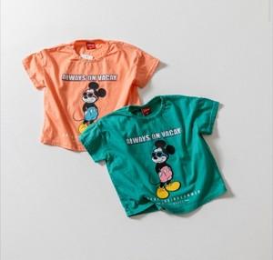 ジュニア予約(一部即納)2800円+税 バカンスミッキーTシャツ
