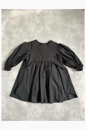 folkmade	quilt dress black x quilt
