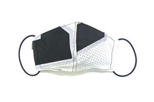 【夏用デザイナーズマスク 吸水速乾COOLMAX使用 日本製】SPORTS MIX MASK CTMR 0824120
