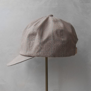 Nine Tailor Lymington cap Brown check