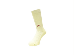 WHIMSY - 42/1 EMJAY SOCKS (Cream)
