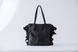 hida leather tote bag-L