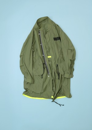 POCKETABLE MODS COAT [KHAKI]