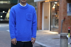 【maillot】boucle pocket sweater