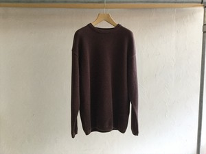 "crepuscule""Moss Stich L/S Brown"""