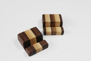 タブレット用木製スタンド