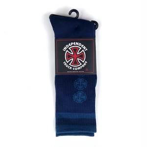 Independent - CHAIN CROSS SOCKS NAVY