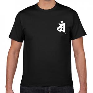 Tシャツ黒 普賢菩薩