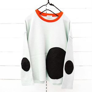 WAFFLE BEAR MT SWITCHING L/S TEE / WOMEN