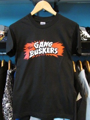 THE GANG BUSKERS S/STシャツ ブラック