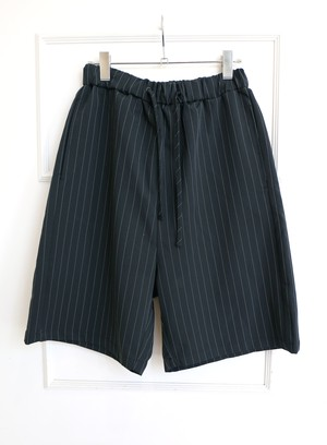 Black Stripe Pants