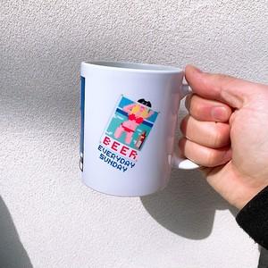 レトロゲーム風 EVERYDAY SUNDAY DINER マグカップ