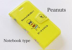 ピーナッツくん 手帳型 iPhoneケース