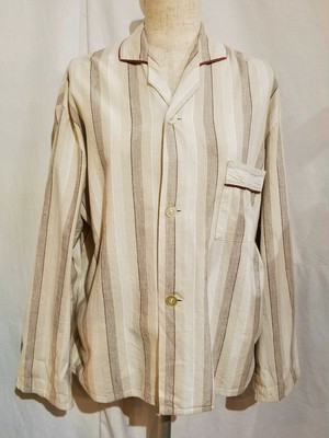 Stripe pattern pajama shirt [G-1168]