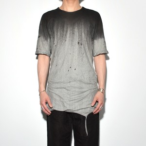 Dolman sleeve T 〈Monochrome・Mixture〉