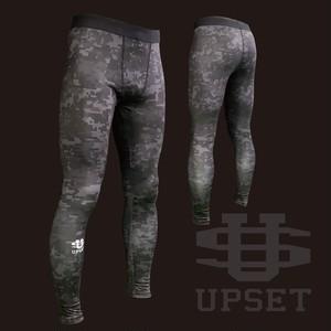 [限定企画品]UPSETコンプレッションロング 黒デジカモ