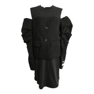 RIMI&Co. SELECT ジャケットドッキングTシャツワンピース