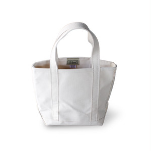 L.L.Bean Boat and Tote -Small- [オールホワイト] <日本未発売>