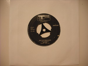 "【7""】WHO / WON'T GET FOOLED AGAIN"