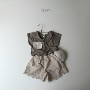 guno. 2way襟付きTシャツ