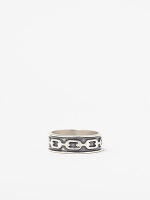 Chain Design Ring / Mexico