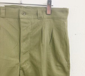 French army : chino pants (dead stock)