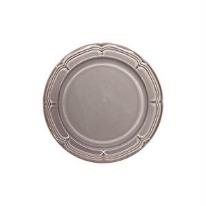 Koyo ラフィネ リムプレート 皿 約17.5cm ストームグレー 15973107